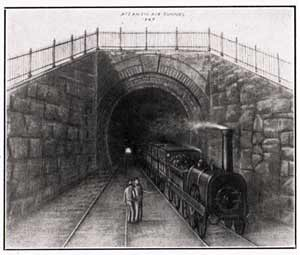 1845 Pic of Atlantic Avenue Tunnel